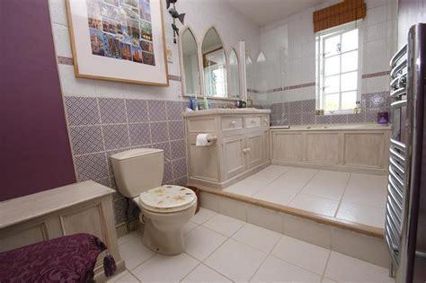purple and beige bathroom purple bathroom design ideas photos inspiration
