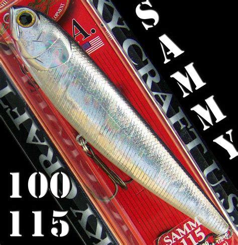 Lucky Craft Sammy 100 Black lucky craft sammy 100 115 topwater walking bait ebay