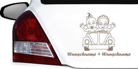 Autoaufkleber Geschwister by Babyaufkleber Geschwister Im Auto