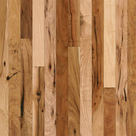 shop bruce hickory hardwood flooring sle country natural at lowes com