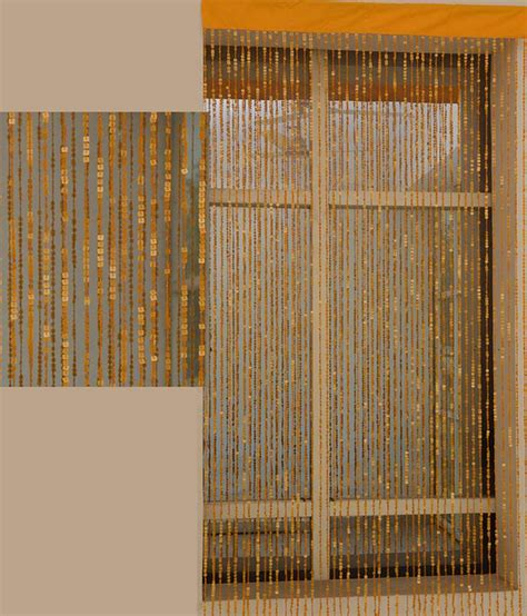 modern beaded curtains aadyahome orange contemporary single long door string