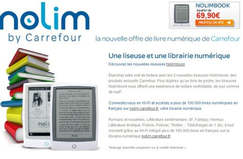 format ebook nolim mini tablet e book reader carrefour the screen is the