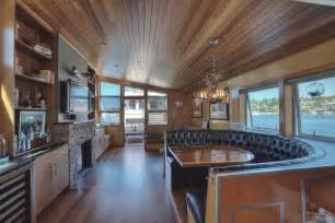 Home Interior For Sale Luxury Lake Union Houseboat In Seattle Includes The Slip Expired Listing Special Agents Realty