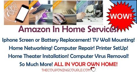 amazon home services amazon in home services computer and cell phone repairs