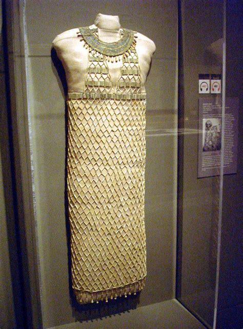 Dress Giza building the new museum of arts mfa beadwork beadnet