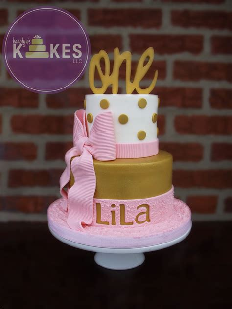 Cut Cake With Kake Kutrs by Pink And Gold Girly Birthday Kake Top Cake Is Iced