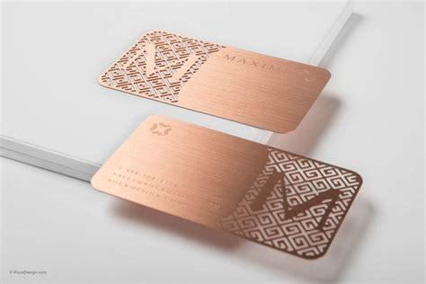 Visitenkarten Rosegold by Die Besten 25 Metall Visitenkarten Ideen Auf