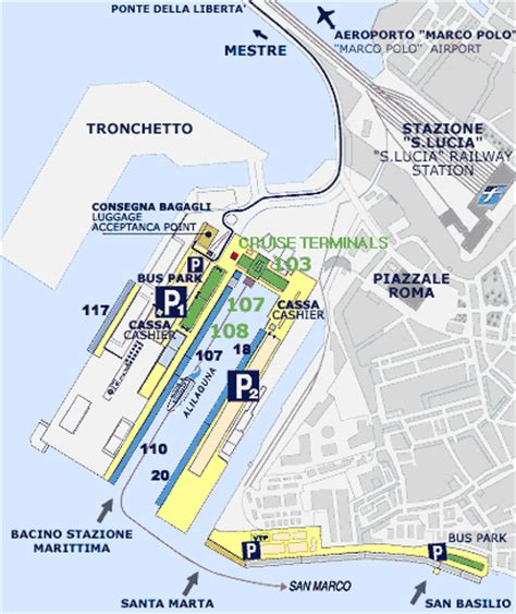 marco polo airport to cruise venice guide for cruisers