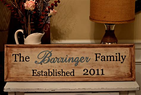 family woodworking diy wooden family sign my of style my of style