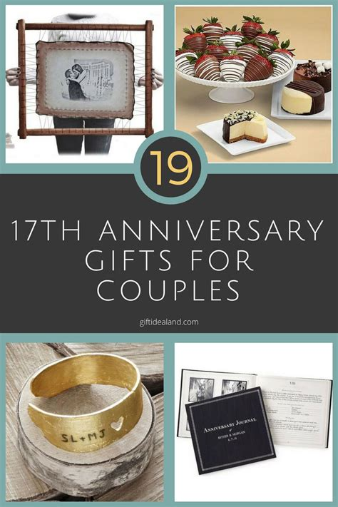 best gift for couples wedding anniversary 42 17th wedding anniversary gift ideas for him