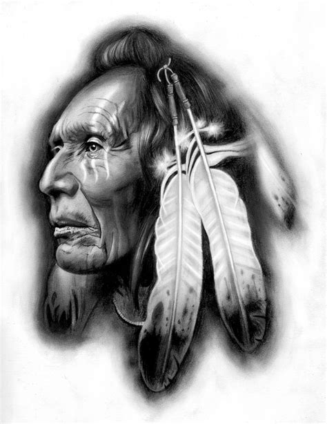 native american indian tattoos designs best 25 indian chief ideas on american