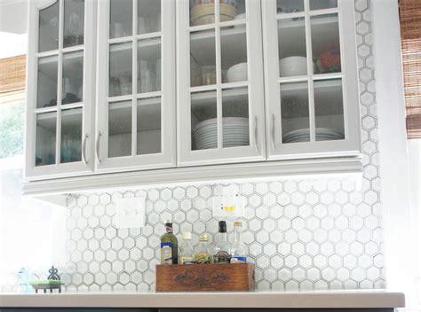 Kitchen : Backsplash Ideas With White Cabinets And Dark