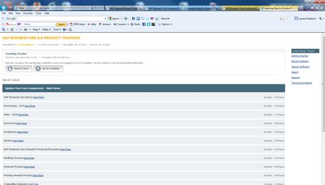 tutorial sap business one how to access the sap customer training portal the sap