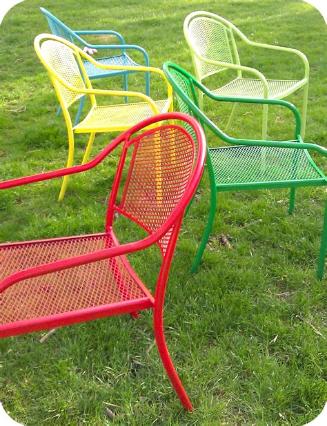 Where The Mermaids Murmur Spray Painted Chairs Spray Paint For Outdoor Furniture