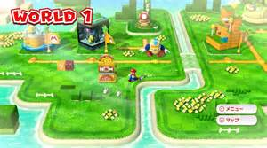 Super Mario 3d World Map by Super Mario 3d World Review Giant Bomb