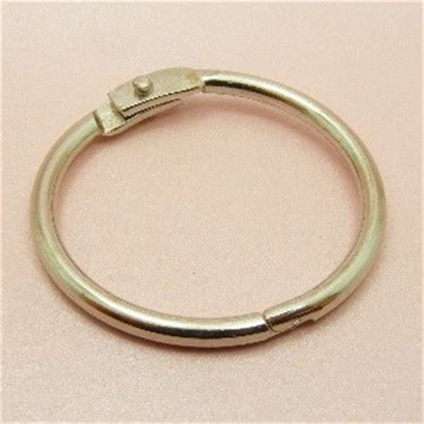 curtain snap rings 2 strong o lock clip rings or snap clips for key card file