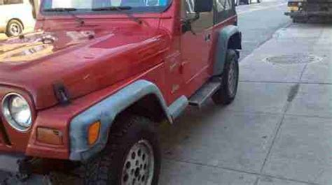 1999 Jeep Sport Parts Buy Used 1999 Jeep Wrangler Sport 4 0l Tj Automatic For