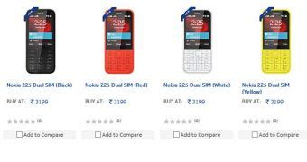 Kaos Nokia 225 Dual Sim by Nokia 225 Dual Sim Officially Introduced In India But It