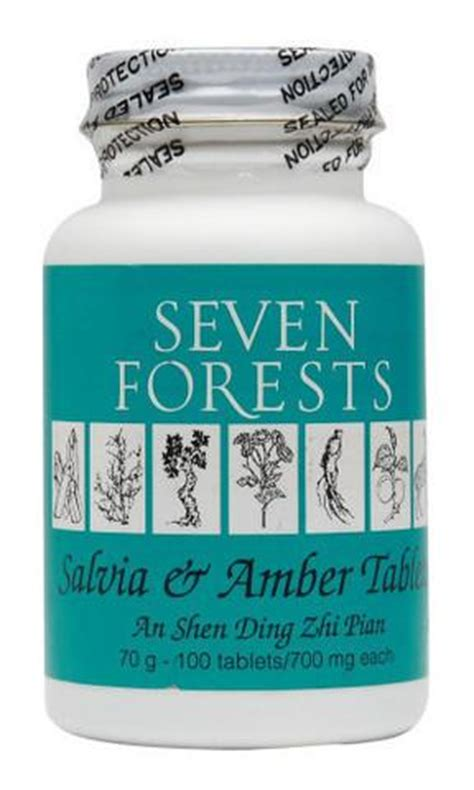 Seven Forests Detox Diarrhea by Seven Forest Salvia Tablets Chineseherbs Net