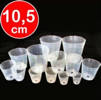 Promo Pot Bibit Plastik 10cm Grosir Pot Bunga pot anggrek plastik bening 10 5 cm 50 pcs bibitbunga