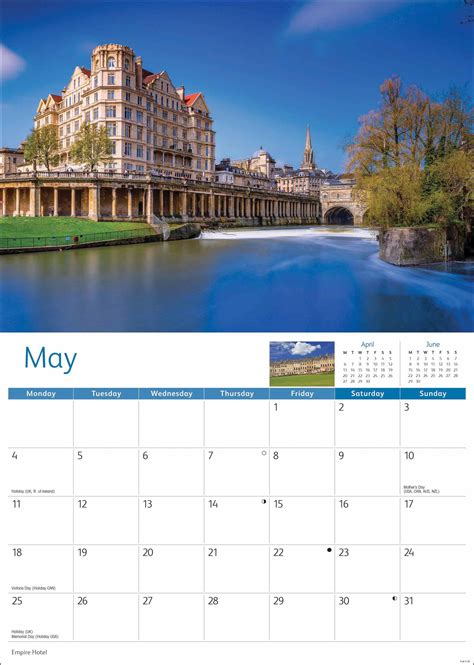 bath  calendar  calendar club uk