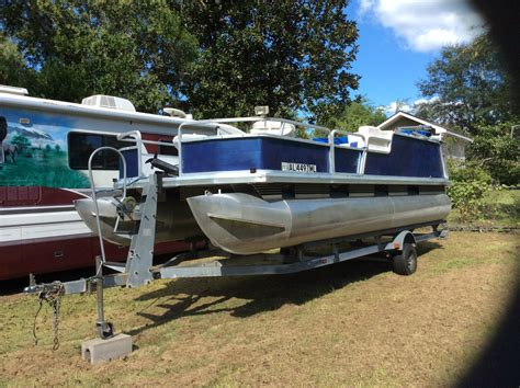 tracker boats us sun tracker pontoon boat 2000 for sale for 6 500 boats
