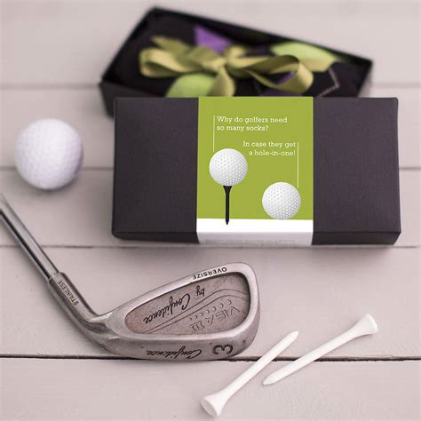 golf gifts gift for a golfer socks by gift library