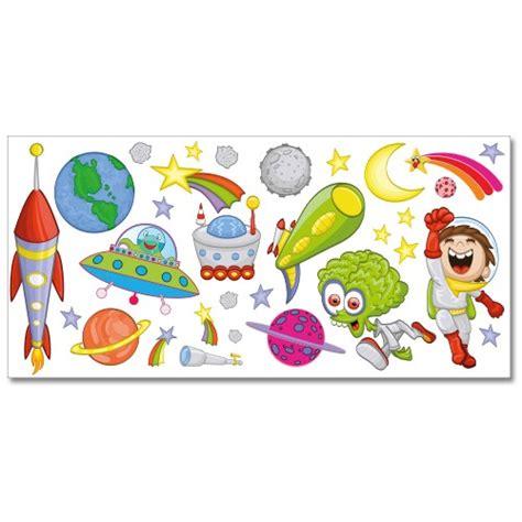wandtattoo kinderzimmer planeten wandsticker set xl weltraum und planeten