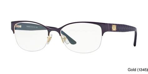buy versace ve1222 semi rimless half frame prescription