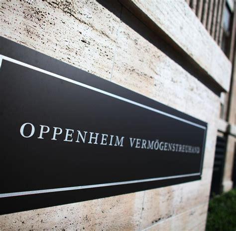 bank sal oppenheim tochterinstitut deutsche bank plant kahlschlag bei sal