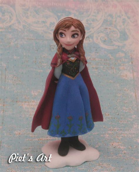 Figure Elsa Dan frozen figure from clay part 1 elsa olaf