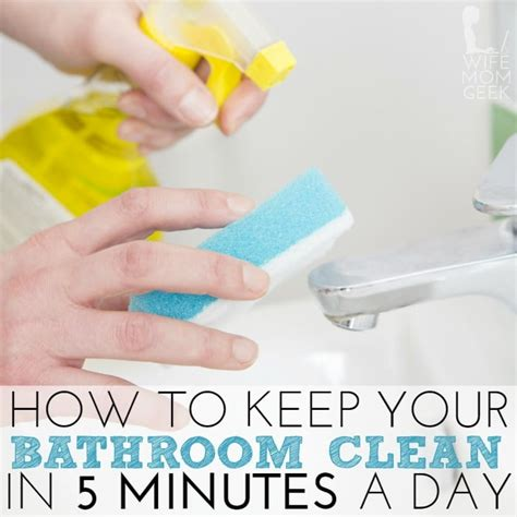 how to keep bathtub clean how to keep your bathroom clean in 5 minutes a day