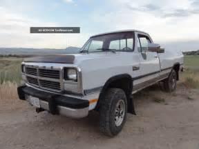 1991 Dodge Truck 1991 Dodge Ram Diesel Truck