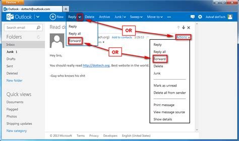 how to foward how to forward emails and reply all in outlook the