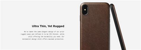 nomad rugged case  iphone  xs  feet drop