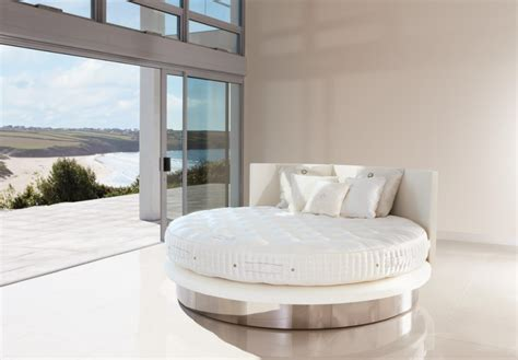 round platform bed frame create unique concept bedroom with these unusual round