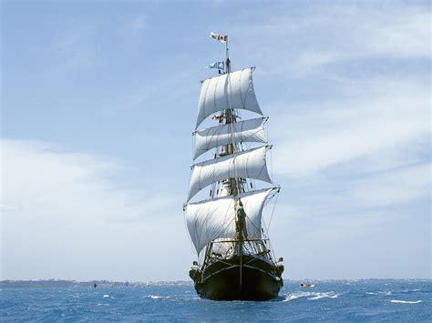 sailing boat in the sea blue white wallpaper free wallpaper world