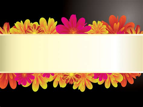 ppt themes black background white orchid on black powerpoint templates black