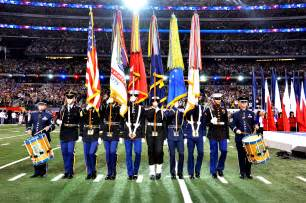 color gaurd file armed forces color guard at bowl xlv 1 jpg