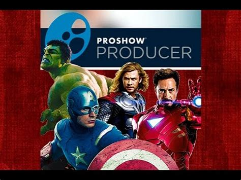 download video vingadores projeto proshow producer