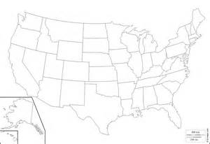 geography outline maps united states