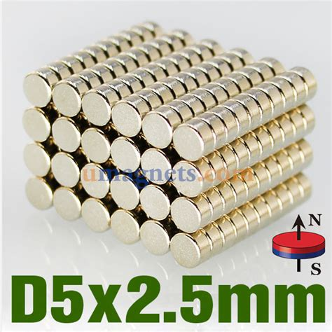 n42 5mmx2 5mm neodymium ndfeb earth disc magnets