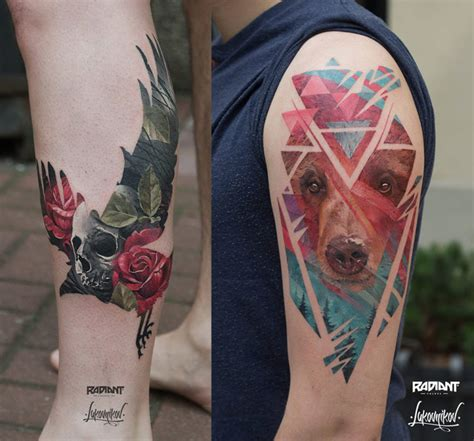 tattoo photography tattoos inspired by double exposure photography