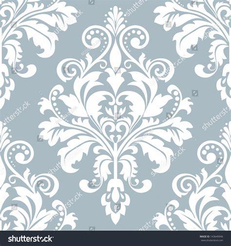 pattern baroque vector wallpaper style baroque seamless vector background stock