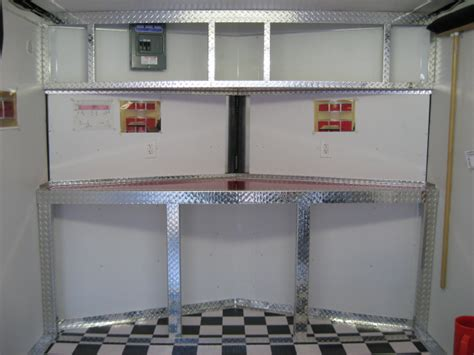 race trailer cabinet aluminum race trailer cabinets pro construction forum