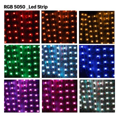 multi color led light strips 12x motorcycle led lights wireless remote multi color neon