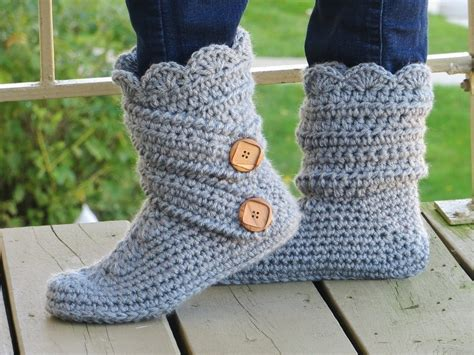 house slipper pattern crochet slipper pattern boots crochet pattern crochet house