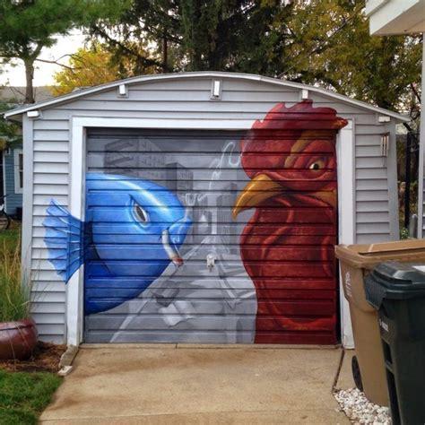 Garage Door Mural Calls 12 Breathtakingly Creative Garage Doors Urbanist