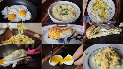 10 creative recipes using just an egg healthy food ideas
