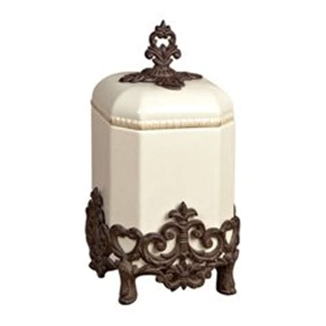 gracious goods small provencial canister with